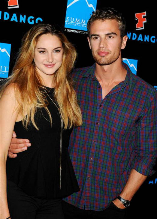 'Divergent' Shailene Woodley and Theo James Dating Split ...