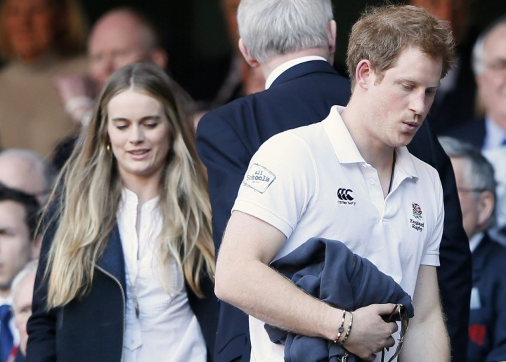 Prins Harry och Cressida bonas dating