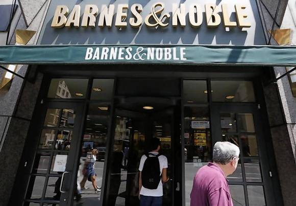 Barnes & Noble retail head sells more than half of shares ...