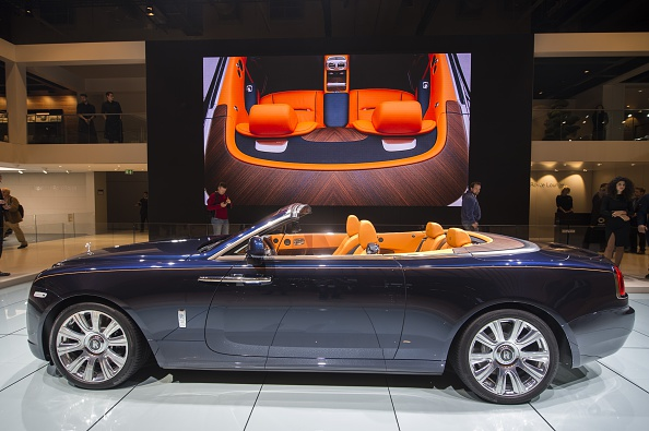 The First Rolls Royce Dawn Convertible Auctions For