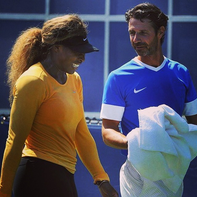 Is Serena Williams Dating Her Coach? New Photos Hint at